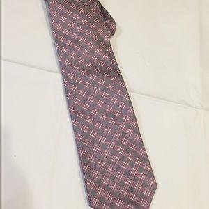 Silver and Purple Perry Ellis Portfolio Neckwear